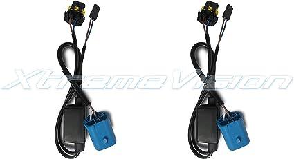 hi lo hid 9007 wiring harness amazon com xtremevision 9007 bi xenon hi lo plug and play bi  amazon com xtremevision 9007 bi xenon