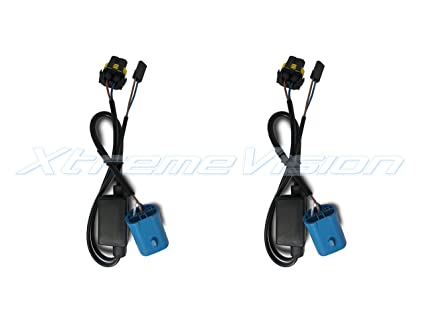 Amazon xtremevision bi xenon hi lo plug and play harness