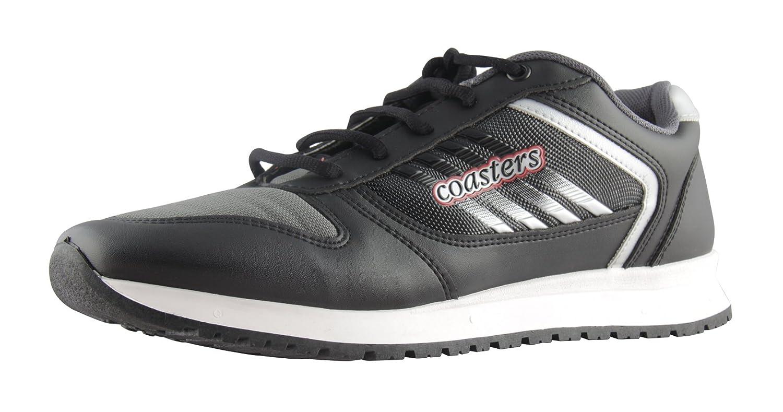 coasters shoe Men's Black Running Shoes