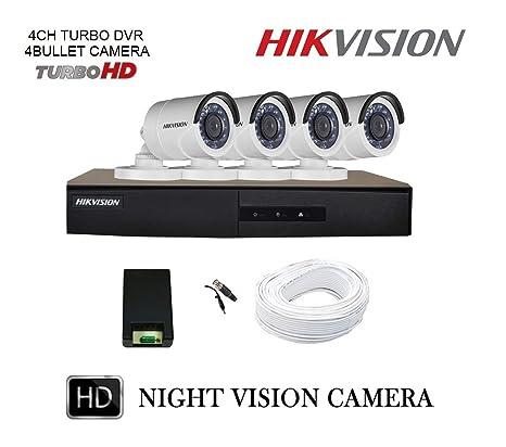 5f5081715 Hikvision 4 CCTV Cameras (Night Vision)   4 Channel DVR Standalone Kit