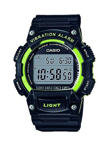 Casio Reloj Digital para Hombre de Cuarzo con Correa en Resina W-736H-3AVEF: Amazon.es: Relojes
