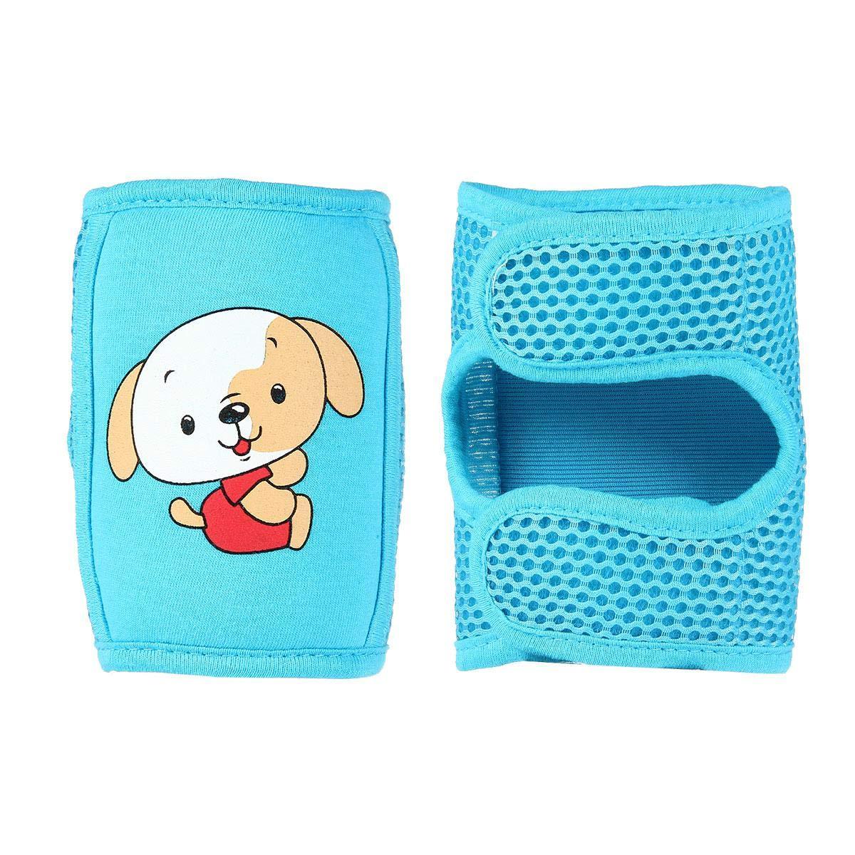Genouillères Bébé Genou de Protection Rampant Protecteur Guêtres pour Bébé 0-6 Années - 1 Paire(Rose) AOLVO