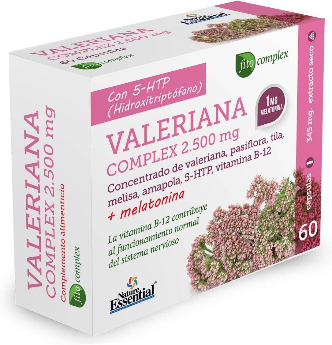 Valeriana (complex) 2740 mg. (ext. seco) 60 capsulas: Amazon.es: Salud y cuidado personal
