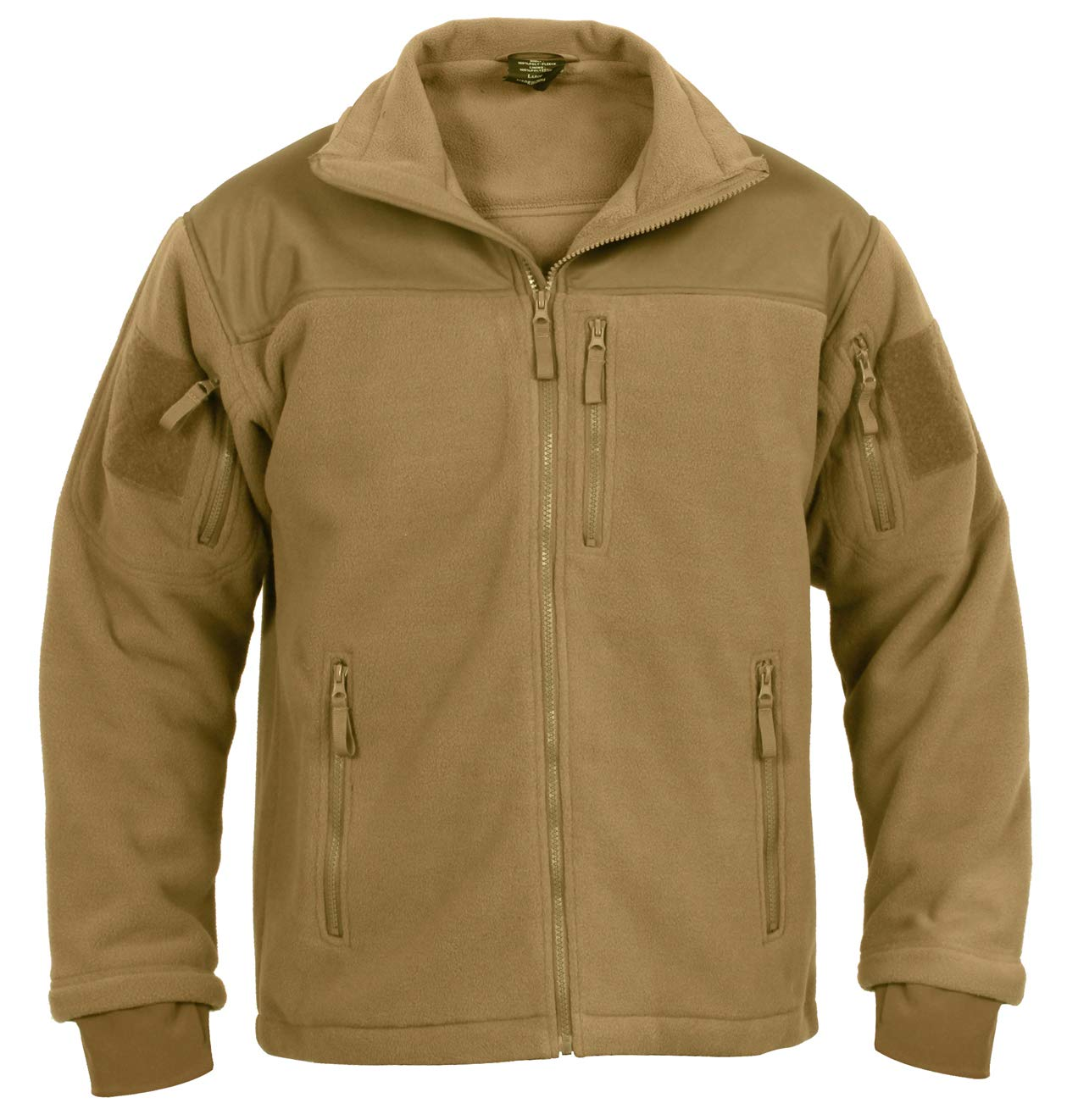 Rothco Spec Ops Tactical Fleece Jacket Sports Outdoors Jaket Army Gear Import Tad