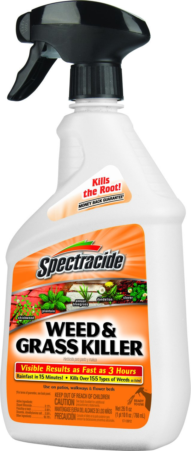Weeds in flower beds spray - Amazon Com Spectracide 86019 Weed And Grass Killer Rtu Trigger Spray 26 Ounce Pack Of 1 Patio Lawn Garden