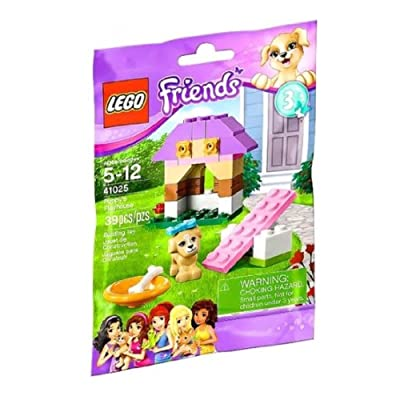 LEGO Friends Series 3 Animals - Puppy's Playhouse (41025): Toys & Games