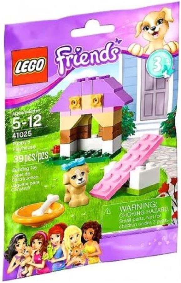 LEGO Friends Series 3 Animals - Puppy's Playhouse (41025)