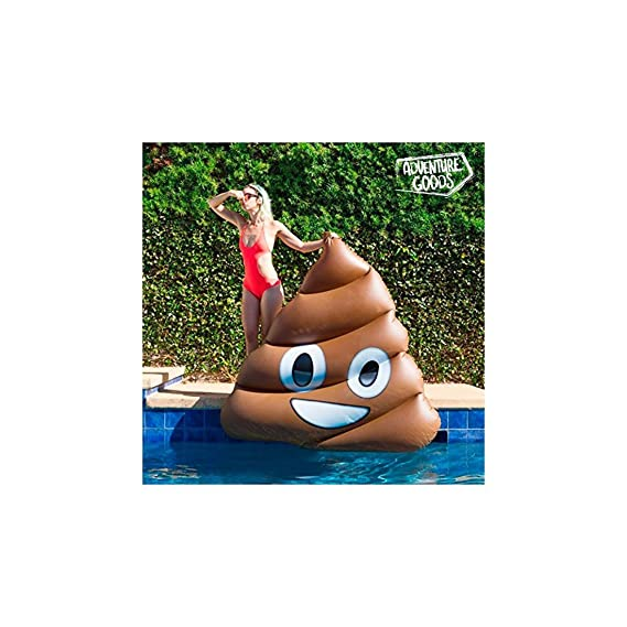 COLCHONETA HINCHABLE POO EMOTION ADVENTURE GOODS