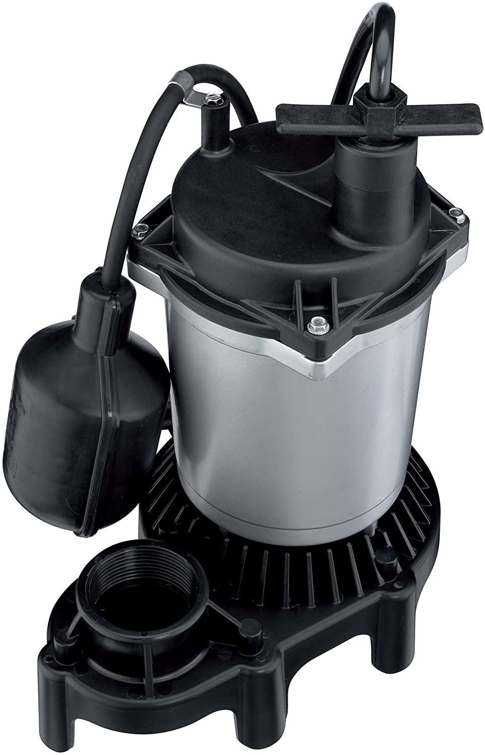 Flotec FPZS50T Submersible Sump Pump With Tethered float Switch, 4200 Gph, 1/2 Hp, 115 Vac, 60 Hz