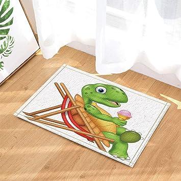 Decoración de animales de dibujos animados, tortugas con ...