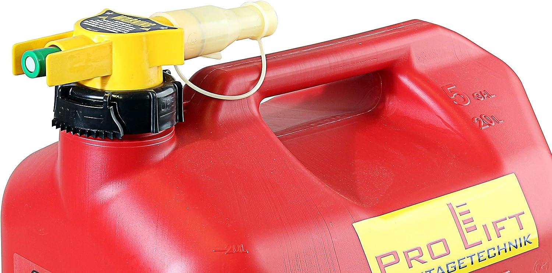00250 Pro-Lift-Montagetechnik No Spill Kanister Benzin Diesel 20Liter NOSPILL20J