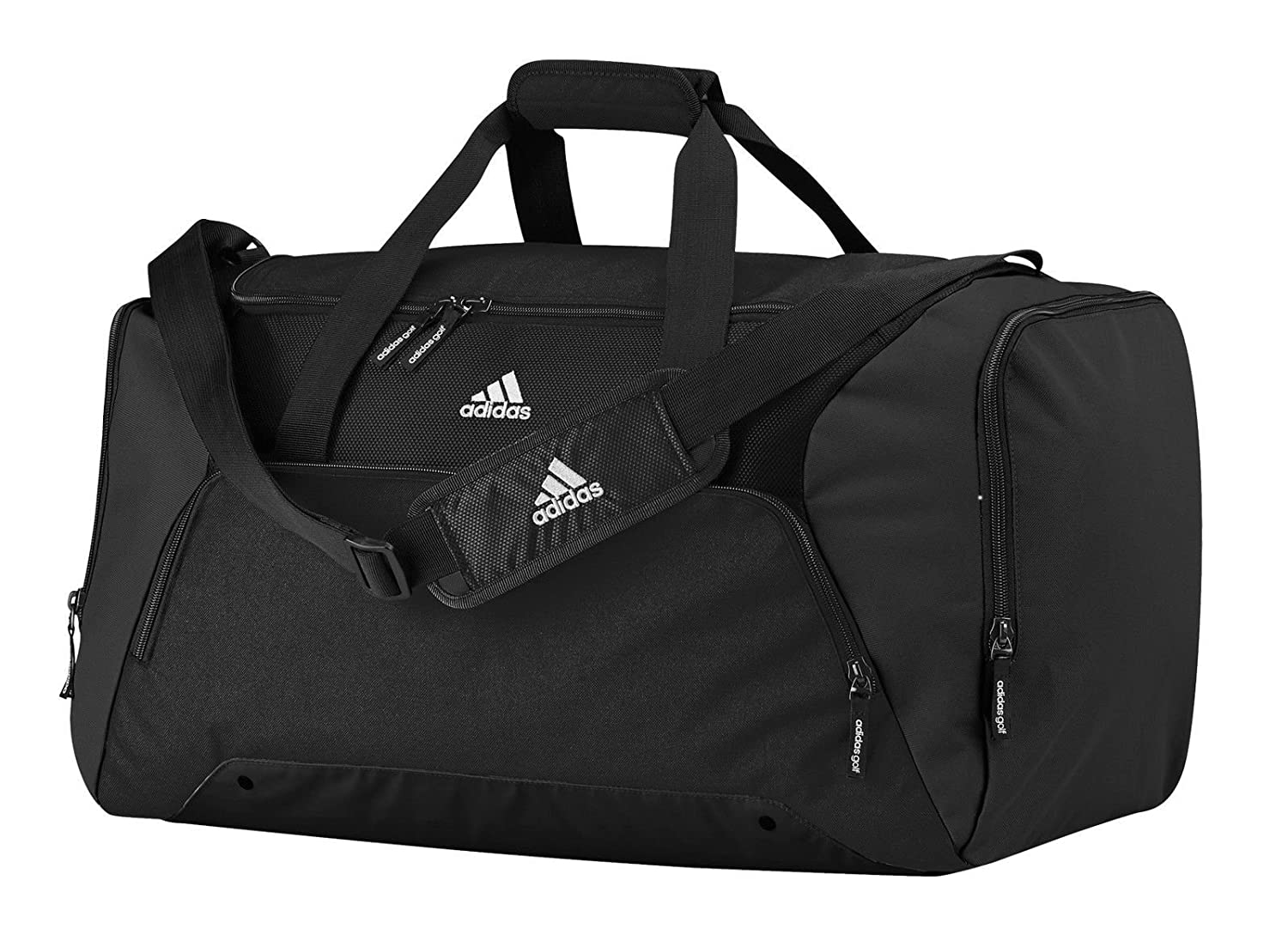2763e5bc73 adidas AD180BLAC 2015 Duffel Gym Bag Travel Holdall