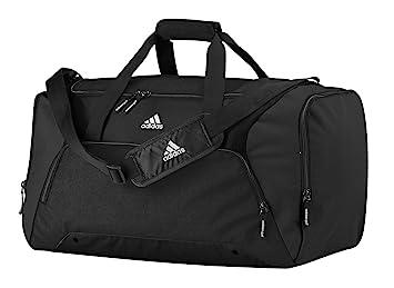 1a2b86f50a7 adidas AD180BLAC 2015 Duffel Gym Bag Travel Holdall, Black, Medium ...