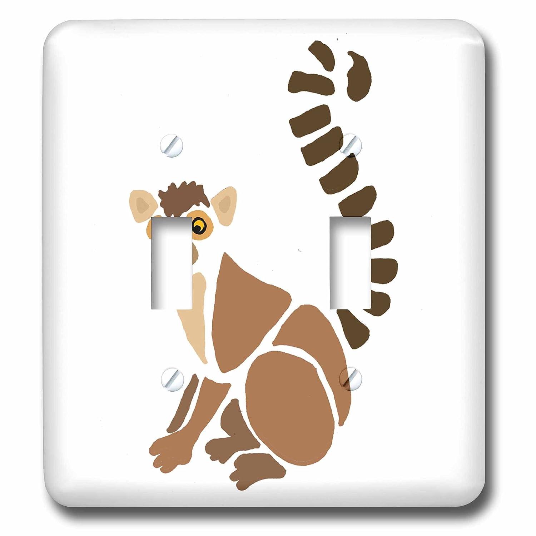 3drose All Smiles Art Animals Funny Artistic Lemur Abstract Art