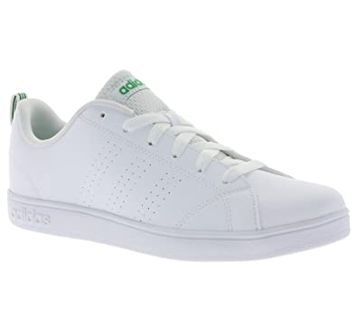 38bc19861 adidas Unisex Kids  Vs Advantage Clean K Low-Top Sneakers  Amazon.co.uk   Shoes   Bags