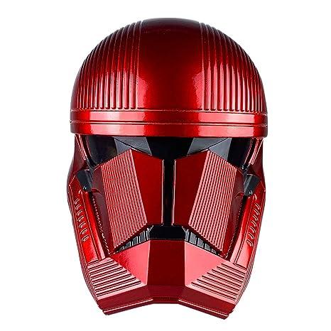 yacn Sith Soldado Casco Rojo Trooper Completa máscara de la ...