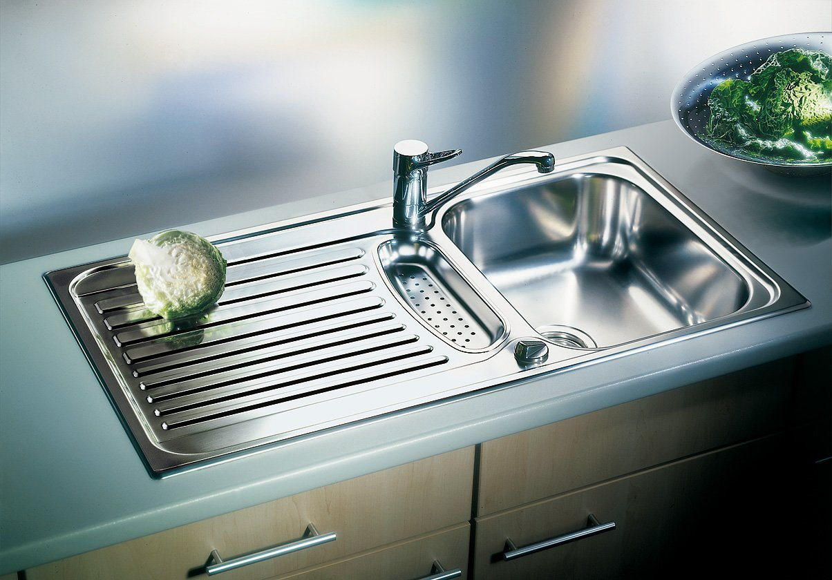 Blanco Toga 45 S Kitchen Sink Stainless Steel Natural Finish, 513603 ...