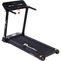 PowerMax Fitness - UrbanTrek TD-N1  - (1.5HP) Plug and Run Treadmill with App for Android & iOS And Bluetooth speakers