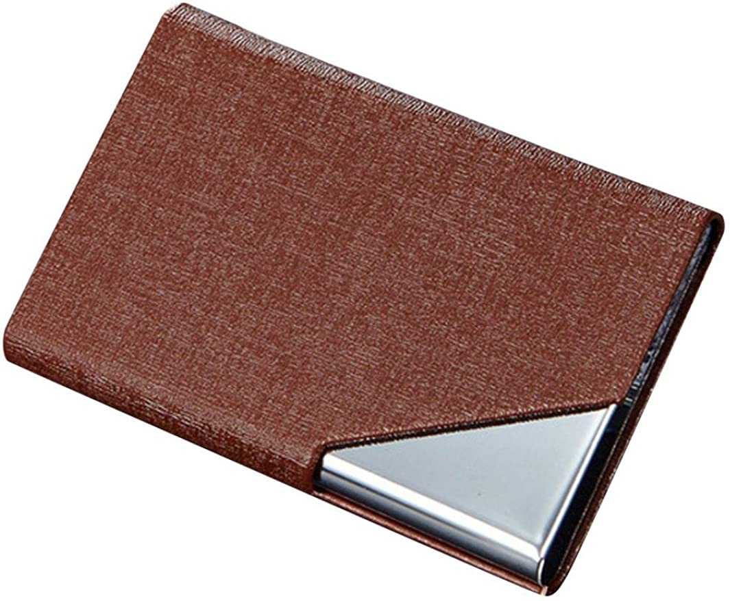 Mens Business ID Credit Card Cases Protector Money Clip Pocket Wallet Inkach Card Cases Holder