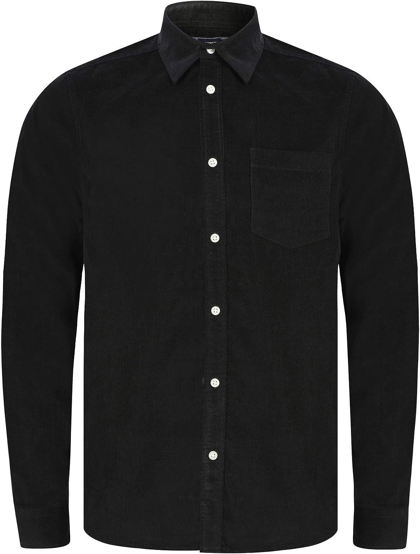 Tokyo Laundry Muretto - Camisa de pana, manga larga, para hombre