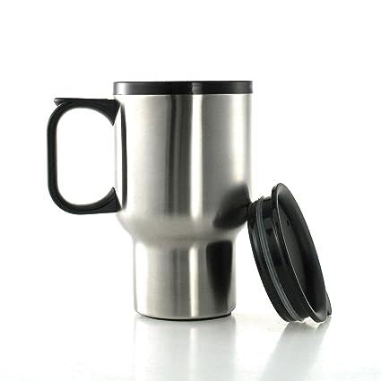 FranquiHOgar Taza Termo de Acero Inoxidable 400 ml - Mug isotérmico