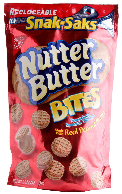 Nutter Butter Bites Snak Saks, 8 oz