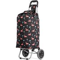 Hoppa 47L Lightweight Shopping Trolley, Hard Wearing & Foldaway for Easy Storage with 3 Years Guarantee