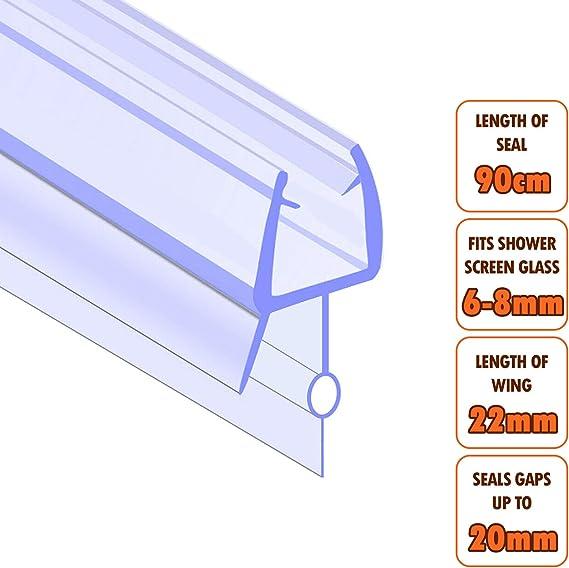 ECOSPA - Tira de sellado de goma y plástico para pantallas de ...