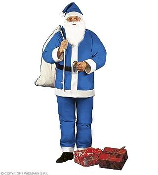 WIDMANN wid1536e ? Disfraz para adulto Navidad Papá Noel, multicolor, talla única