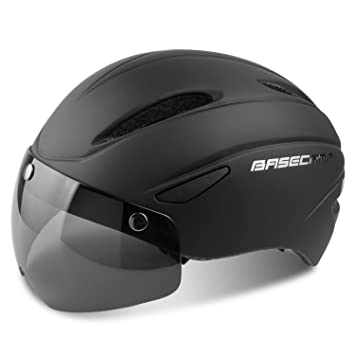 Basecamp Bike Helmet With Detachable Magnetic Goggles