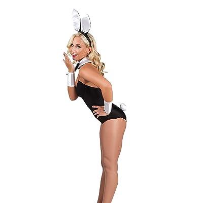 Boland 52319–Costume–Set Bunny, serre-tête, col, manchettes et queue