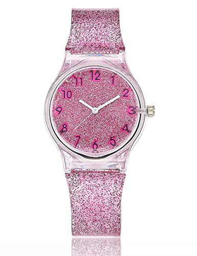 Women Starry Sky Watches COOKI Clearance Female Watches on Sale Star Lady Watches  Cheap Watches Transparent 18b43d32bc