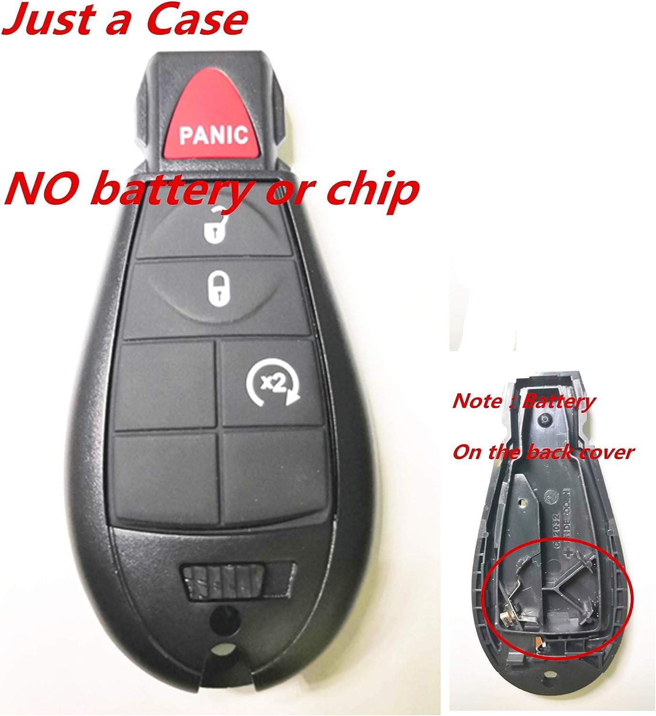 NEW 3 Button Fobik Keyless Entry Remote Key Fob For a 2012 Dodge Durango