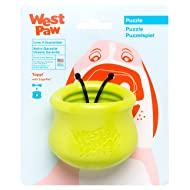 West Paw Design Zogoflex Toppl Interactive Treat Dispensing Dog Puzzle Treat Toy for Dogs