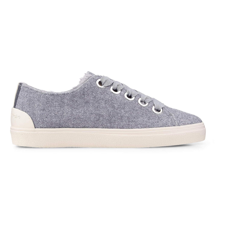 Marc O'Polo Damen Fashion-Sneaker Grau-dunkel