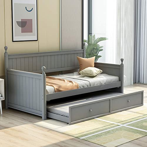 P PURLOVE Wood Daybed