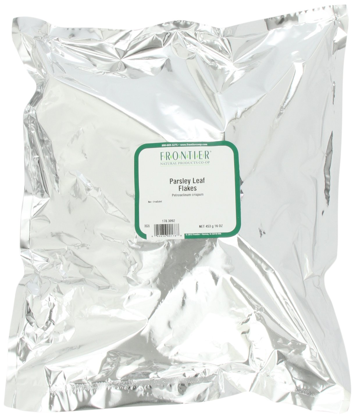 Frontier Parsley Leaf Flakes, 16 Ounce Bag
