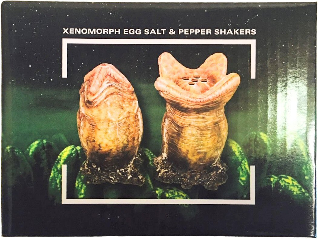 Alien Xenomorph Egg Salt And Pepper Shakers Nerd Block Exclusive