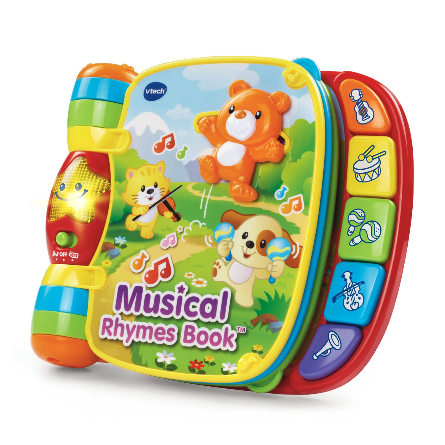 B00TEF3GSA VTech Musical Rhymes Book, Red 71ZINEo5joL