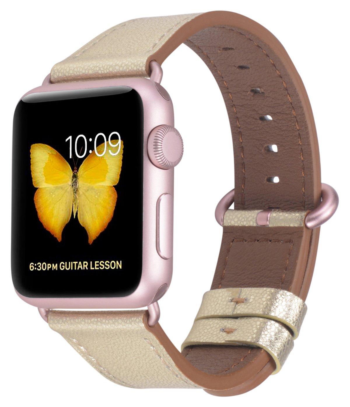 Malla Cuero para Apple Watch (38/40mm) PEAK ZHANG [7KZGYM3B]