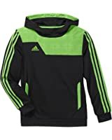 Adidas Youth Climalite Speedtrick Hoodie Small Black|Green Small