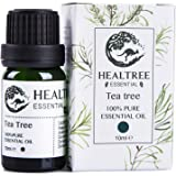 HEALTREE Tea Tree 100% Pure Essential Oil 10ml (Australian Owned & Made) | Natural Single Ingredient | Aromatherapeutic Grade | Perfect for Aromatherapy, Skin & Hair Care | ISO Analysis Attached