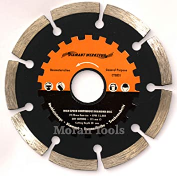 Angle grinder diamond tile cutting disc blade 115mm amazon angle grinder diamond tile cutting disc blade 115mm greentooth Image collections
