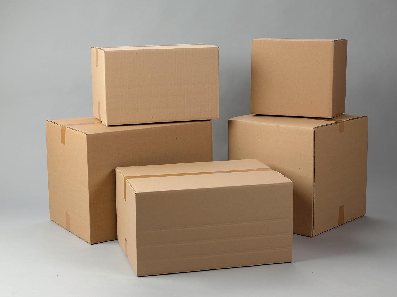 Lot de 15 cartons à double paroi Swiftpak - 375 x 235 x 165mm Swiftpak Limited CDW52/4