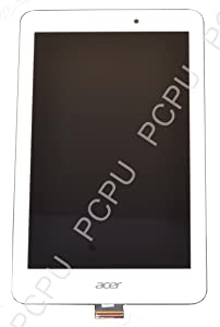 6M.L4JN9.001 New ACER A1-840FHD Complete LCD Assembly Touch W/Front Cover White