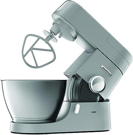 Kenwood KVC3100S - Máquina de cocina con movimiento planetario Base, licuadora y trituradora de carne plateado: Amazon.es: Hogar
