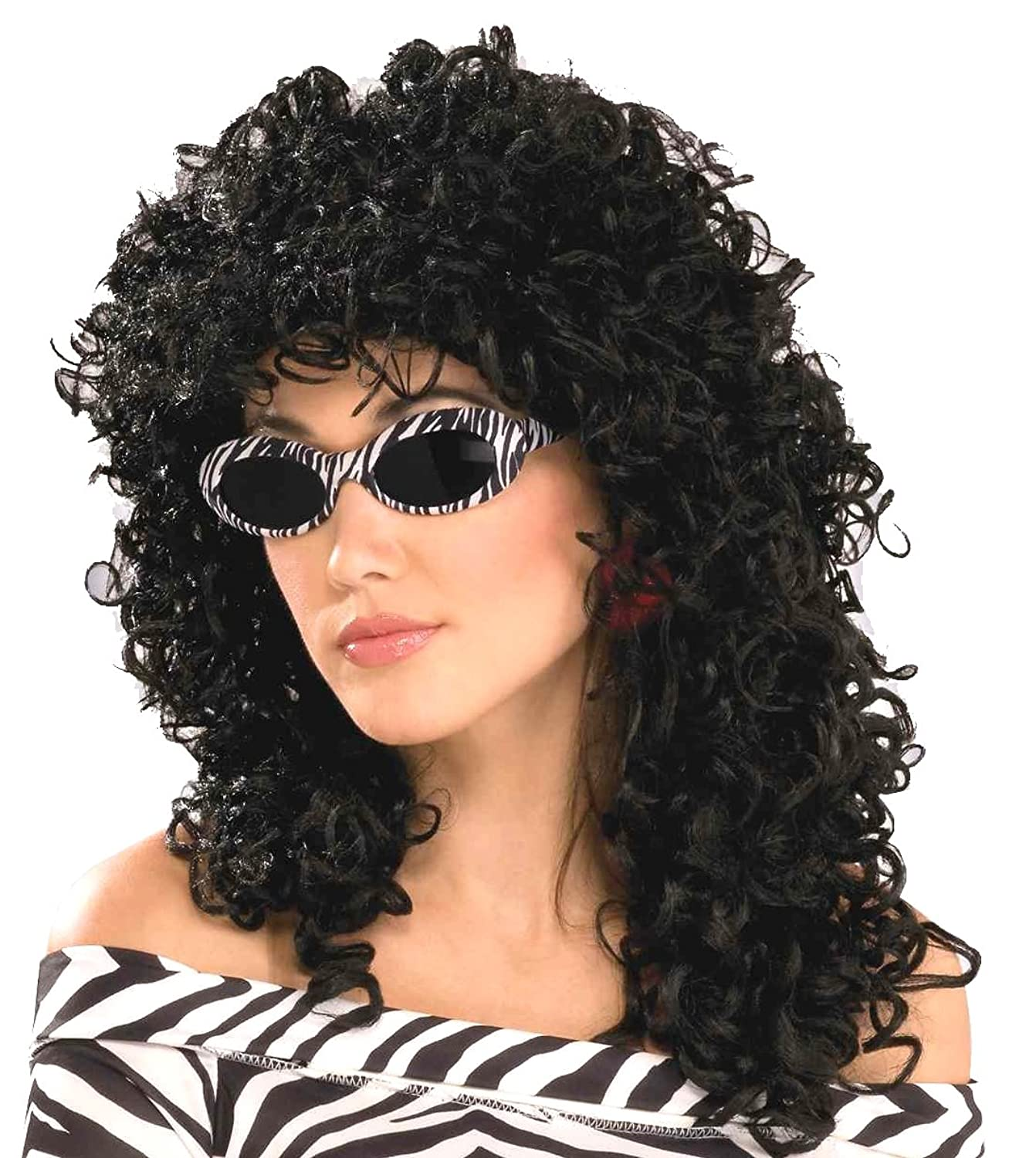 Women's 80's To The Maxx Wild Curl Wig
