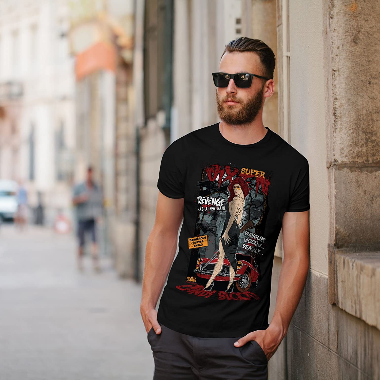 Creepy Graphic Design Printed Tee Wellcoda Undead Marionette Mens T-shirt