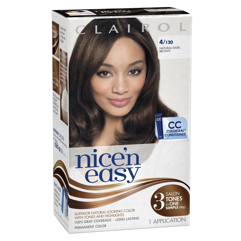 Amazon Clairol Nice N Easy Hair Color 120 Natural Dark Brown