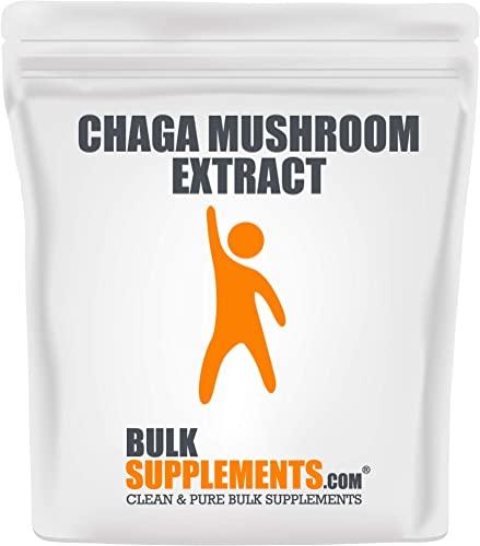 Bulksupplements Chaga Mushroom Extract Powder 500 Grams